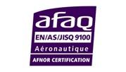 Certification EN9100-V2018 et ISO9001-2015